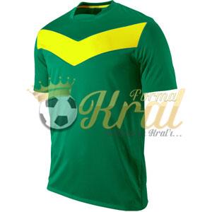 Victory Yeşil Sarı Halı Saha Forma + Şort