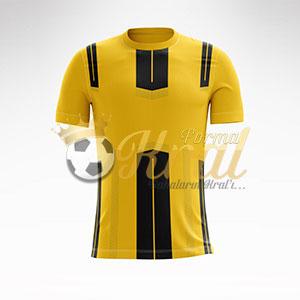 Sarı Siyah Dortmund Halı Saha Forma + Şort Mikro polyester kumaştan üretilmektedir. Mikro polyester kumaşı asla ter tutmaz, çabuk kurur ve renkleri solmaz.