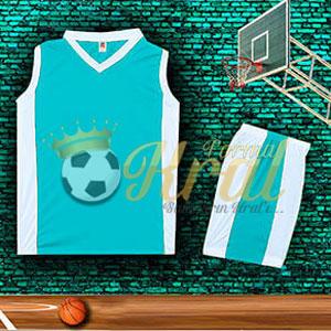 Turkuaz Basketbol Forması
