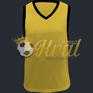 Sarı Basketbol Forması