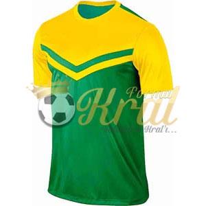 Victory II Yeşil Sarı Halı Saha Forma + Şort