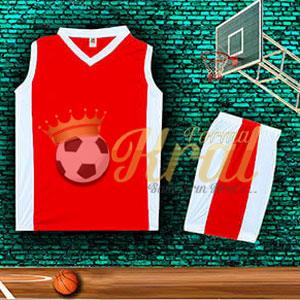 Kırmızı Basketbol Forması