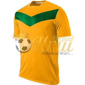 Victory Turuncu Yeşil Halı Saha Forma + Şort