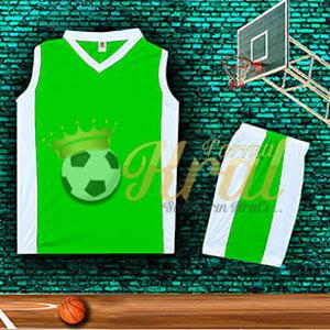 Yeşil Basketbol Forması