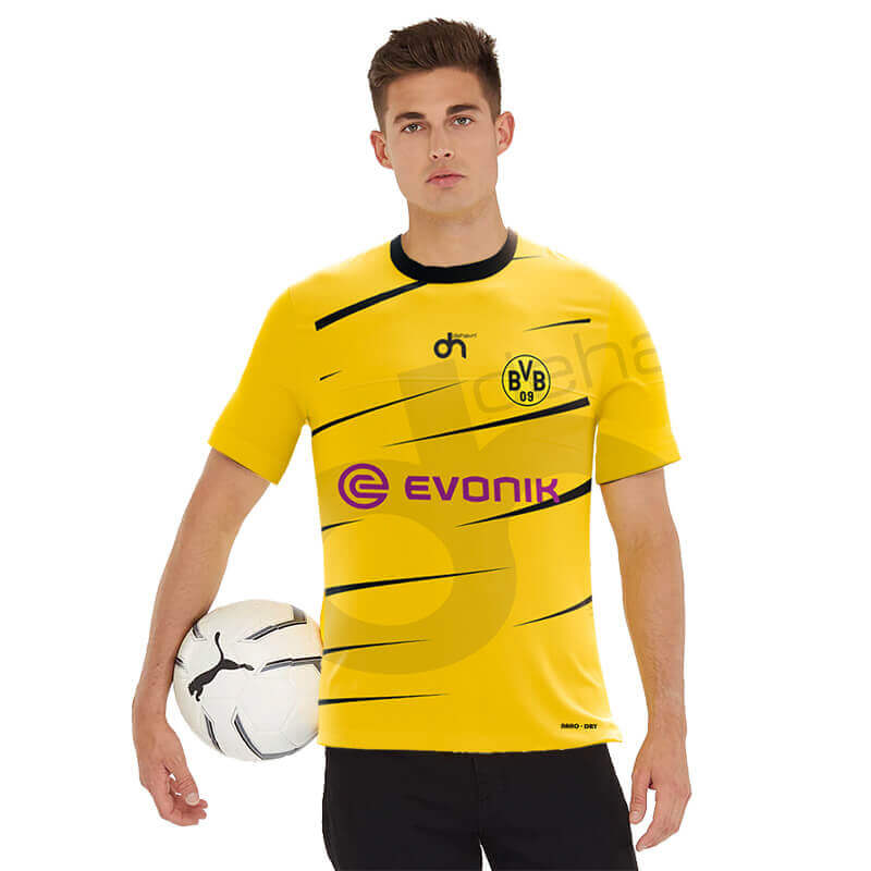 Borussia-Dortmund Away Dijital Halı Saha Forma