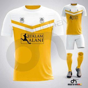 Victory Sarı-Beyaz Dijital Halı Saha Forma