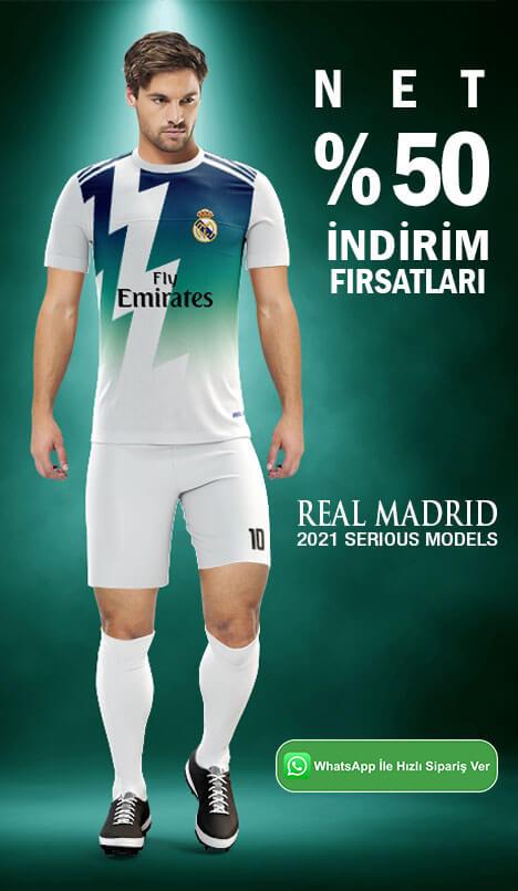 Real Madrid Halı Saha Forma